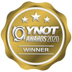 WINNER - YNOT AWARDS 2020