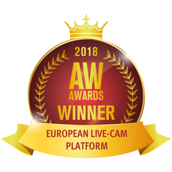 WINNER - Best European Live-Cam Platform