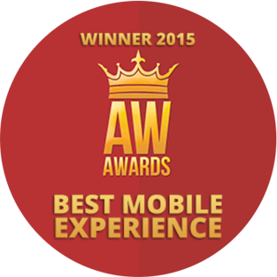 WINNER - Best mobile experience