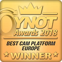WINNER - Best Cam Platform Europe